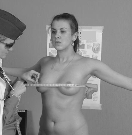 Musterung Nackt